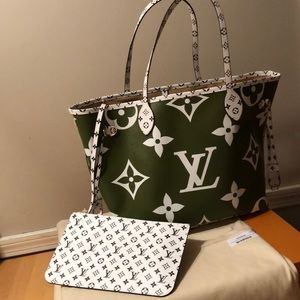 Louis Vuitton Neverfull Giant MM Summer 2019 $3500